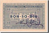50 Dinara 1941-1944 Kroatien Banknote, Undated