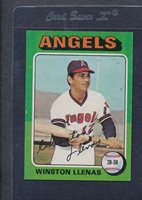 1975 Topps #597 Winston Llenas Angels NM/MT *4446