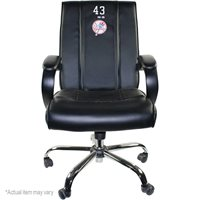 Francisco Cervelli Clubhouse Chair - NY Yankees Game Used #17 Clubhouse Chair (FJ645106) (July 9th 2011)