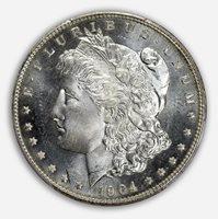 1904-O $1 Morgan Dollar PCGS MS66PL