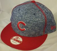 NWT NEW ERA Chicago CUBS panel stitcher 9FIFTY SNAPBACK adjustable mlb cap hat