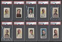 Lot # 62: 1911 M116 Sporting Life Philadelphia Phillies Card Collection w/Ten PSA Graded (24)