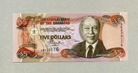 5 Dollars Serie 2001 Bahamas Pick 63b