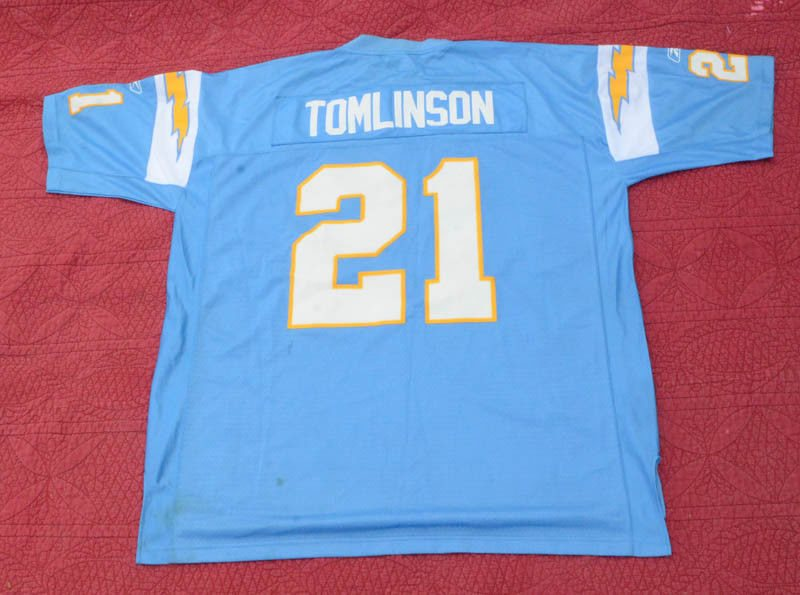 brand new a407d 290aa Reebok NFL San Diego Chargers LaDainian Tomlinson #21 Jersey Size 2XL.