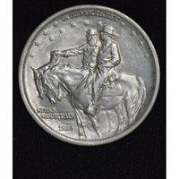 50c Cent 1/2 Half Dollar 1925 Stone Mountain MS63 frosty white