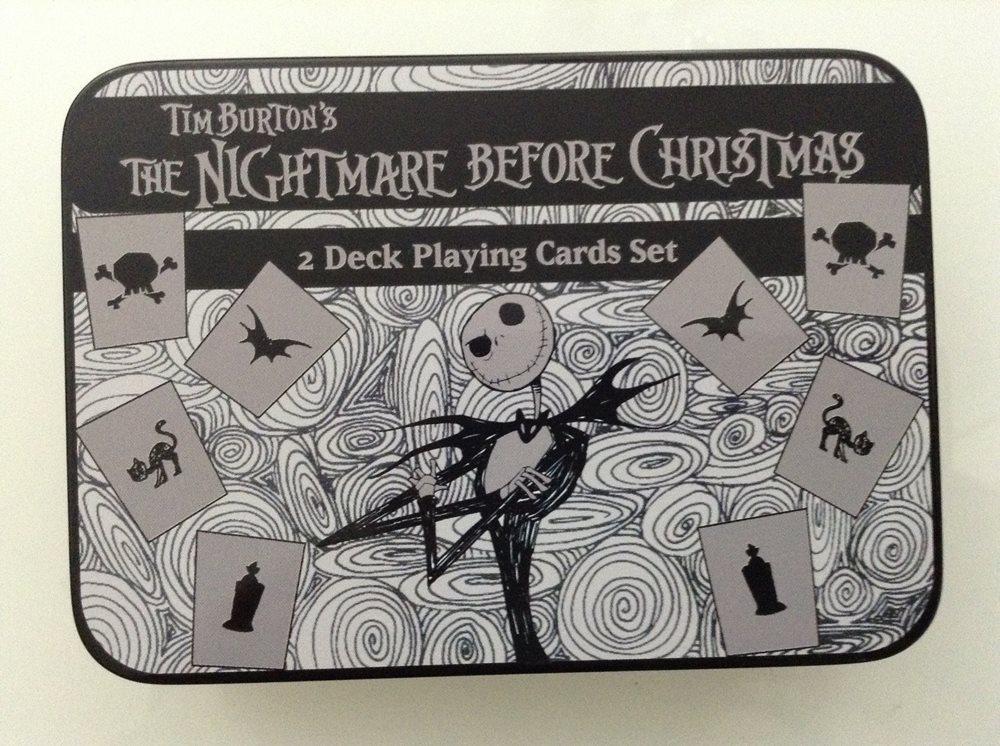 TIM BURTON\'S NIGHTMARE BEFORE CHRISTMAS 2 DECK PLAYING