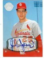 Julian Javier autographed Baseball Card (St. Louis Cardinals) 2004 Upper Deck Legends #35