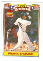 Frank Thomas Baseball Card Chicago White Sox The Big H