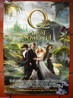 11x17 Original Promo Movie Poster MINT JAMES FRANCO OZ THE GREAT AND POWERFUL