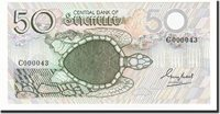 50 Rupees Undated (1979) Seychelles Banknote, Km:25a