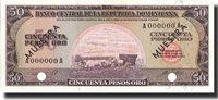 50 Pesos Oro undated (1964-74) Dominican Republic Banknote, Undated