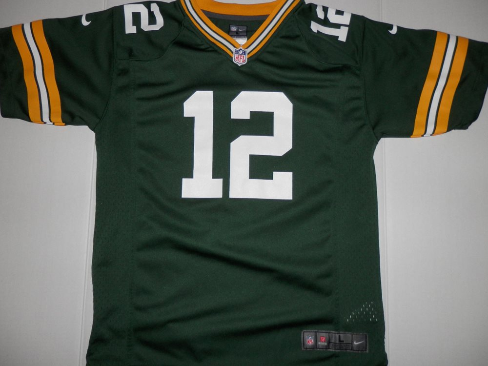 daa69f5b7 Nike Green Bay Packers Clay Matthews Jersey Youth Large