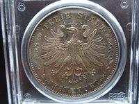 Frankfurt 2 Taler 1841 PCGS MS62 #A3