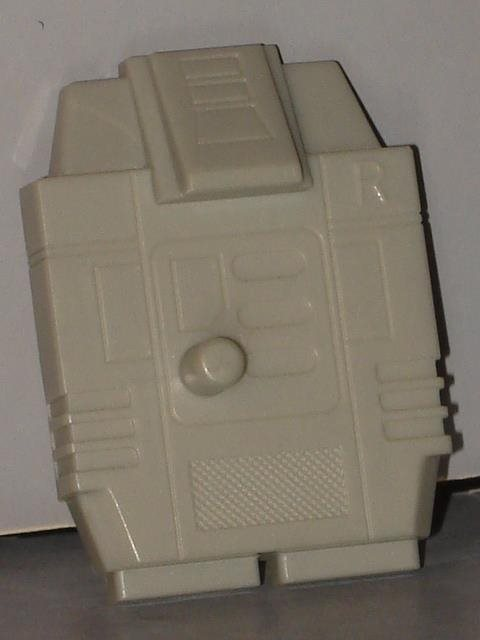 "G1 TRANSFORMER BRUTICUS ONSLAUGHT HEAD /""LIGHT GREY/"" LOT # 1"