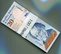 Venezuela PNEW 2018 20 Bolivares Soberano UNC x 100 Sequential Banknotes 1 Bundle