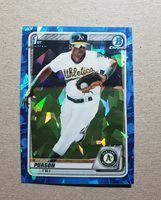 2020 Bowman Chrome Sapphire Robert Puason #BCP-145 Oakland Athletics