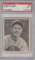 1939 Play Ball #57 Buddy Hassett PSA 7