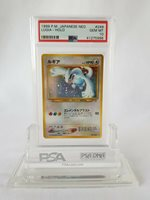 Pokemon 1999 Lugia Japanese Neo Holo #249 PSA 10 GEM MINT