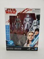 "Star Wars The Last Jedi Battle On Crait 3/4"" Action Figure Set Hasbro Disney"