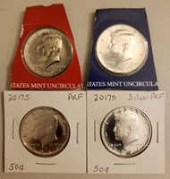 2017 PDSS Kennedy Half Dollar Set From US Mint Sets