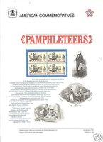 # 1476 PAMPHLETEERS COMMEMORATIVE PANEL