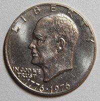 1976 Eisenhower Dollar Type 1 BU