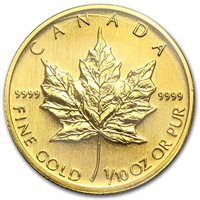 2006 CA Canada 1/10 oz Gold Maple Leaf BU Gold Brilliant Uncirculated
