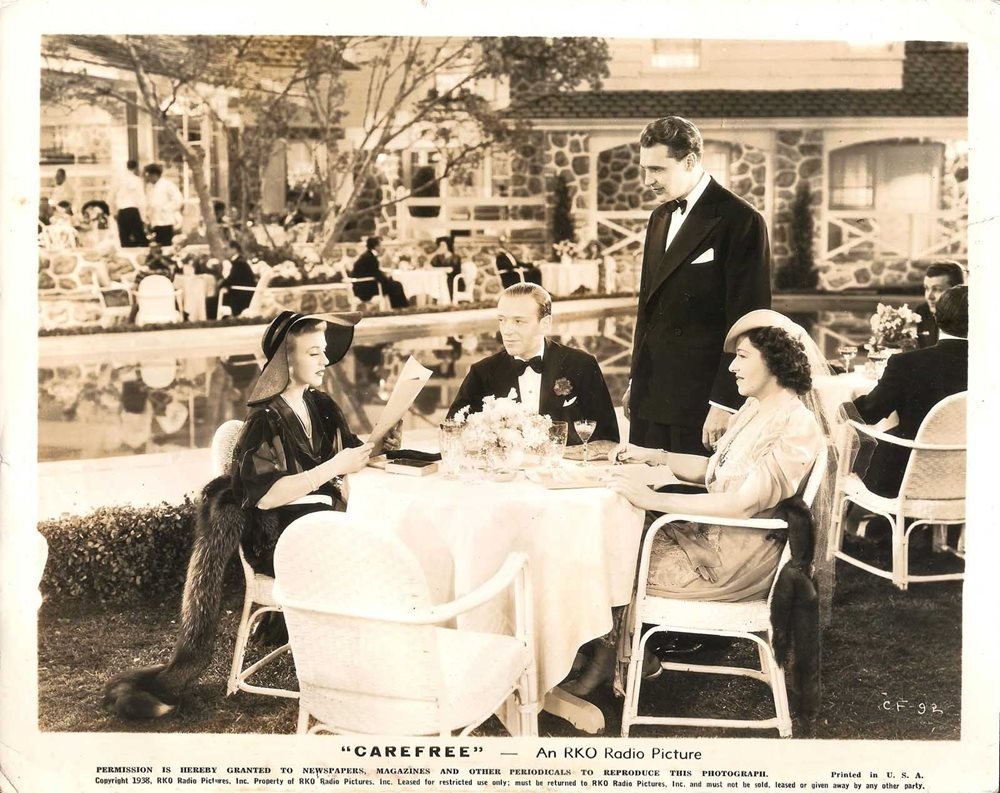 Ginger Rogers Fred Astaire In Carefree Original Vin