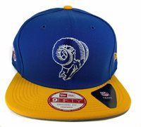 Los Angeles Rams New Era 9Fifty Vintage Throwback 2 Ton 25b3c2bfd133