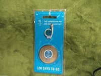 #D256. SYDNEY OLYMPIC PIN & MEDAL - 100 DAYS TO GO