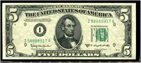 $5 1950D Minneapolis. Granahan-Dillon. Gem Uncirculated.