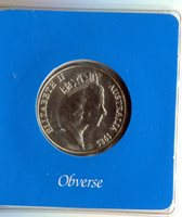 1985 Australia Victoria Silver $10 State Series Uncirculated Coin in Mint Case