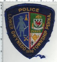 Lower Gwynedd Township Police (Pennsylvania) 4th Issue Uniform Take-Off Patch