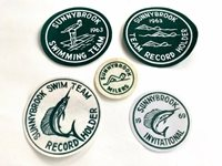 Sunnybrook Swim Team Patches lot of 5 Vintage 1960's - Pennsylvania