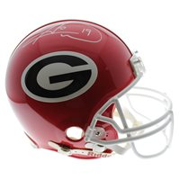 60d6254936b Hines Ward Autographed Signed Georgia Bulldogs Riddell Authentic Full Size  Helmet - PSA/DNA Certified