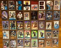Carolina Panthers 64 Card Lot
