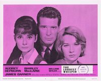 THE LOUDEST WHISPER Lobby Card 6 Shirley MacLaine Audrey Hepburn Childrens Hour