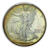 1939 50C Walking Liberty Half Dollar PCGS PR66+ (CAC)
