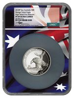 2016 P 5 Oz Australia S$8 Wedge Tailed Eagle High Relief NGC PF 69 UC Mercanti