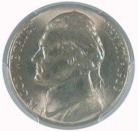 1939-S 5C Jefferson Nickel PCGS MS 64