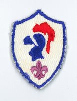 2000's SCOUTS OF COSTA RICA - CABALLERO (KNIGHT) SCOUT Highest Rank Top Award DP