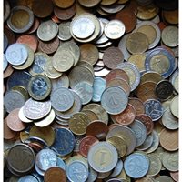 Kilo -1/2- kg Lot Coins - from the Whole World / 7229164vvv
