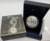 10 Euro 2020 Frankreich France Unesco Olympia Silver