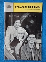 The Star Spangled Girl - Plymouth Theatre Playbill - February 1967 - Perkins
