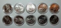 2010 P D ATB Quarters Set BU From US Mint Set