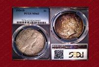 1934-D Peace $1 MS62 PCGS