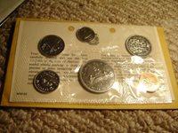 1969 Canada PL Set (6 Coins Cent to $1). MINT UNC.