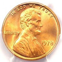 1983-D Lincoln Memorial Cent 1C Penny - Certified PCGS