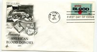 1425 American Blood Donors ArtCraft FDC