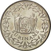 Surinam, 250 Cents 1989, KM 24